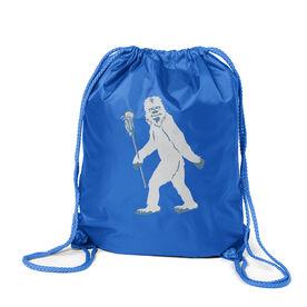 Guys Lacrosse Sport Pack Cinch Sack - Yeti