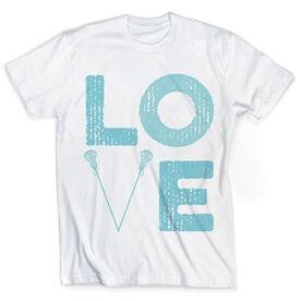 Vintage Girls Lacrosse T-Shirt - Lax Love