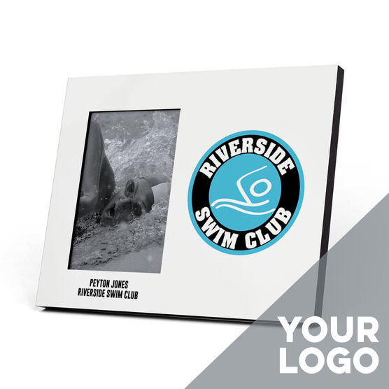 Swimming Photo Frame - Custom Logo