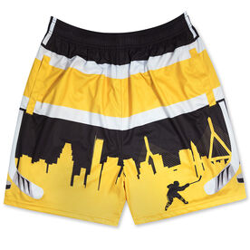 Boston Hockey Shorts