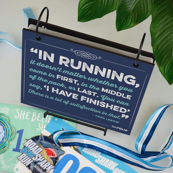 BibFOLIO® Race Bib Album - In Running