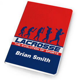 Guys Lacrosse Notebook Evolution