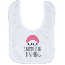 Swimming Baby Bib - Swimmer In Training