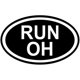 Vinyl Decal Run Ohio