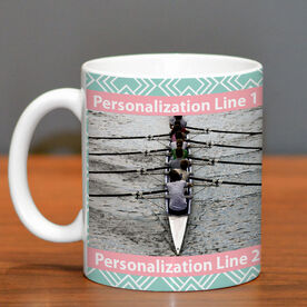Crew Coffee Mug Custom Photo with Pattern