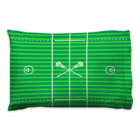 Guys Lacrosse Pillowcase - Field