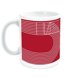 Track & Field Coffee Mug Lanes