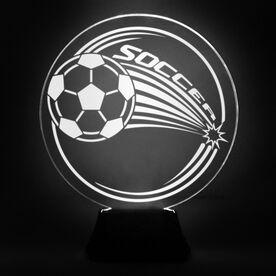 Soccer Acrylic LED Lamp Corner Kick