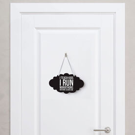 Running Cloud Sign - Nothing Scares Me