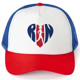 Running Trucker Hat Love The Run
