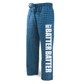 Softball Lounge Pants Hey Batter Batter