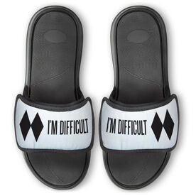 Skiing & Snowboarding Repwell® Slide Sandals - I'm Difficult