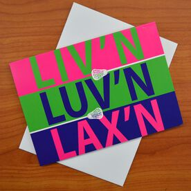 Liv'n Luv'n Lax'n - MySPORT Card