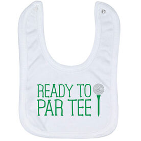 Golf Baby Bib - Ready To Par Tee