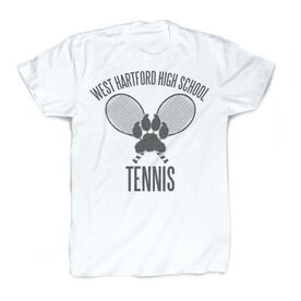 Vintage Tennis T-Shirt - Personalized Logo