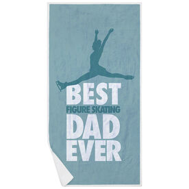 Figure Skating Premium Beach Towel - Best Dad Ever