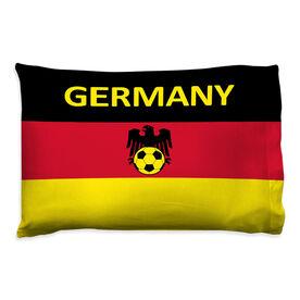 Soccer Pillowcase - Germany