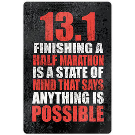 """Running 18"""" X 12"""" Wall Art - 13.1 Anything Is Possible"""