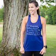 Women's Racerback Performance Tank Top - Awesome Autumn