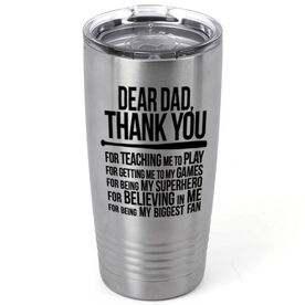 Baseball 20 oz. Double Insulated Tumbler - Dear Dad