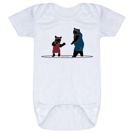 Wrestling Baby One-Piece - Bears