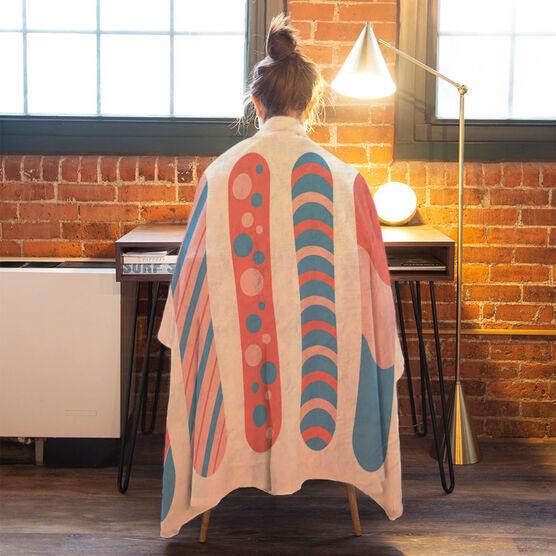 Snowboarding Premium Blanket - Snowboards Colorful