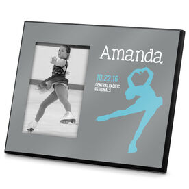 Figure Skating Photo Frame Personalize Silhouette