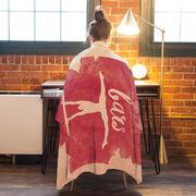 Gymnastics Premium Blanket - Bars