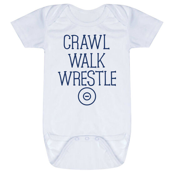 Wrestling Baby One-Piece - Crawl Walk Wrestle