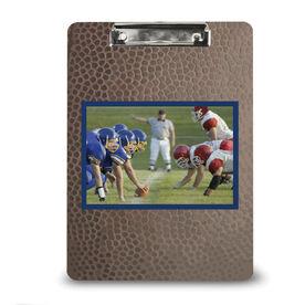 Football Custom Clipboard Football Your Photo Pattern
