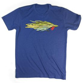 Deceiver Fly - Short Sleeve Cotton Tee by Fly Knot