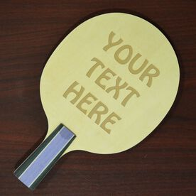 Engraved Ping Pong Paddle