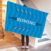 Crew Premium Blanket - Rowing Boat