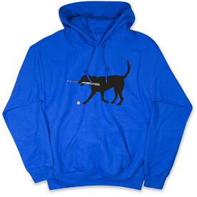 Baseball Standard Sweatshirt - Baseball Dog With  Bat