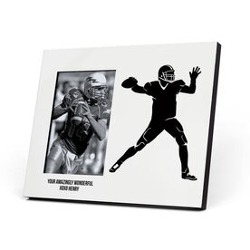 Football Photo Frame - Quarterback