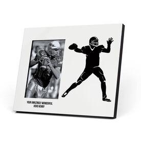 Football Photo Frame - Quarterback