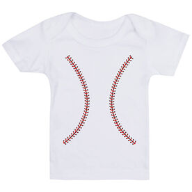 Baseball Baby T-Shirt - Stitches