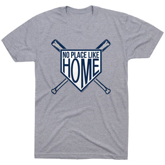 Baseball Tshirt Short Sleeve No Place Like Home