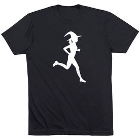 Running Short Sleeve T-Shirt - Runner Witch