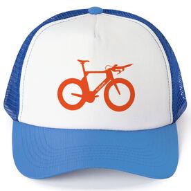 Triathlon Trucker Hat Tri Bicycle