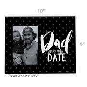 Personalized Photo Frame - Dad Established