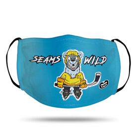 Seams Wild Hockey Face Mask - Northern