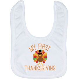 Baby Bib - My First Thanksgiving
