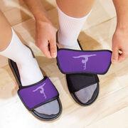 Gymnastics Repwell® Slide Sandals - Gymnastics Silhouette