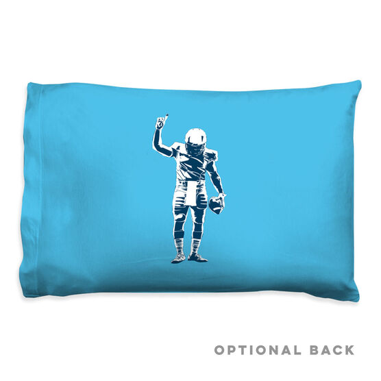 Football Pillowcase - Number One Player