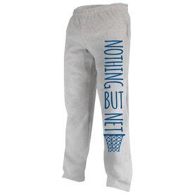 Basketball Fleece Sweatpants Nothing But Net