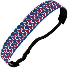 Volleyball Juliband No-Slip Headband - Volleyball Ball Pattern