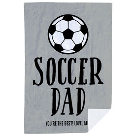 Soccer Premium Blanket - Soccer Dad