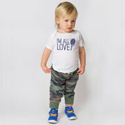 Tennis Baby T-Shirt - I'm All Love