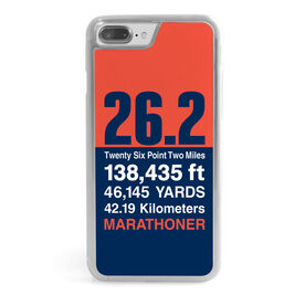 Running iPhone® Case - 26.2 Math Miles
